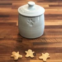 Natural Dog Treats - Mini Gingerbread Men
